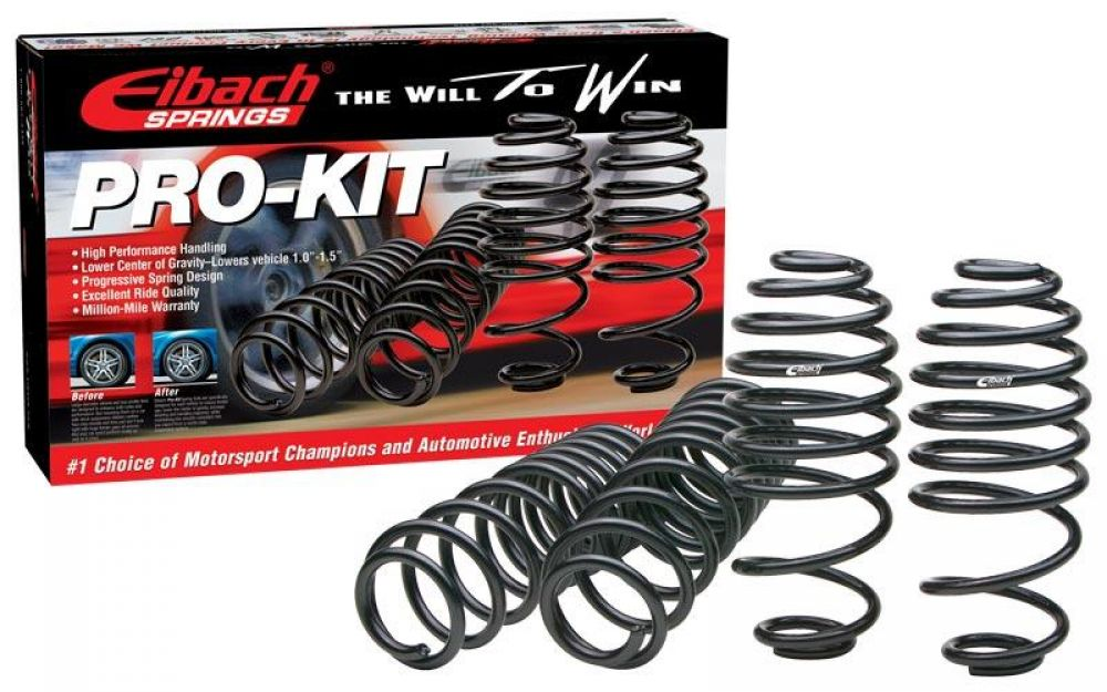 Eibach 82106.140 Pro-Kit Lower Springs for 2012-2017 Toyota Camry 2.5L /& 3.5L